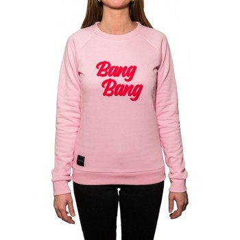 Vêtements Femme Sweats Baron Sweat  Girl Bang Bang - Rose Rose