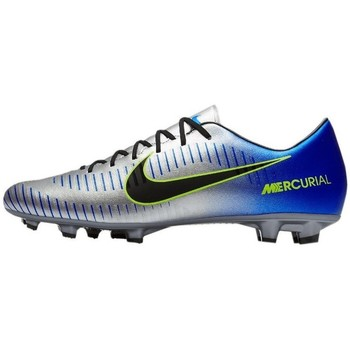 Chaussures Homme Football Nike Mercurial Victory VI Neymar AG Bleu-Argent