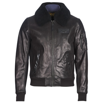285647e1923443 Vêtements Homme Vestes en cuir   synthétiques Redskins COMMANDER STRIKING  Noir