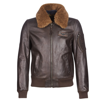 Vêtements Homme Vestes en cuir / synthétiques Redskins COMMANDER STRIKING Marron