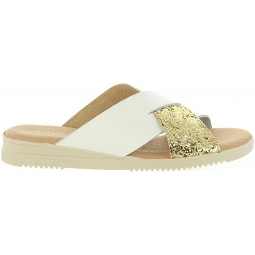 Cumbia 20571 Gold - Chaussures Mules Femme