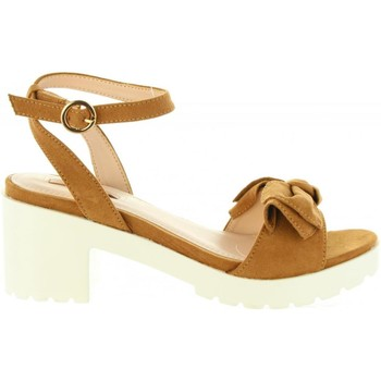 Chaussures Femme Sandales et Nu-pieds Chika 10 FIONA 01 Marr?n