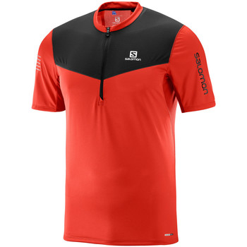 Vêtements Homme T-shirts manches courtes Salomon Fast Wing HZ SS Tee M Fiery Red