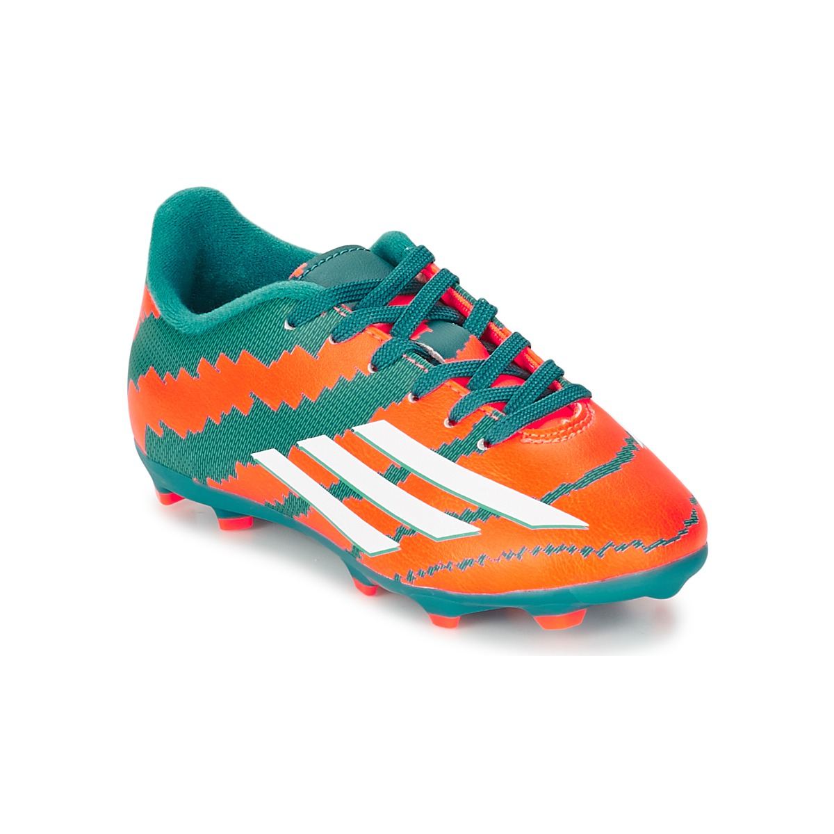 adidas Performance MESSI 10.3 FG J Turquoise / Orange