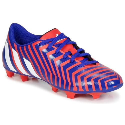 Chaussures Homme Football adidas Performance PREDITO INSTINCT FG Rouge/ Bleu / Blanc