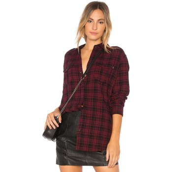 Vêtements Femme Chemises / Chemisiers Obey FAIRUZA Cranberry