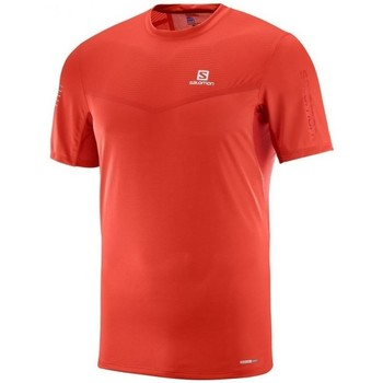 Vêtements Homme T-shirts manches courtes Salomon Fast Wing SS Tee Rouge