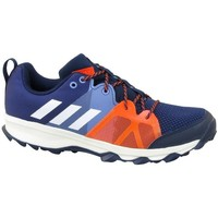 Chaussures Enfant Baskets basses adidas Originals Kanadia 81 K Bleu marine-Orange
