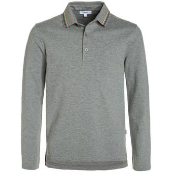 Vêtements Garçon Polos manches longues HUGO Polo Hugo Boss Junior - Ref. J25B83-A33J Gris