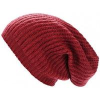 Accessoires textile Femme Bonnets Guess Bonnet Maille Bordeaux AW6716