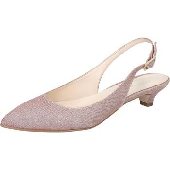 Chaussures Femme Sandales et Nu-pieds Olga Rubini sandales rose textile BY275 rose