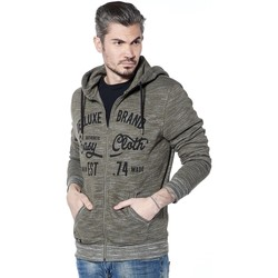 Vêtements Homme Sweats Deeluxe Sweat zippé à capuche Easier Kaki