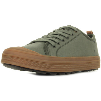 Chaussures Homme Baskets basses Palladium Sub Low Canvas Olive Night Mid Gum vert