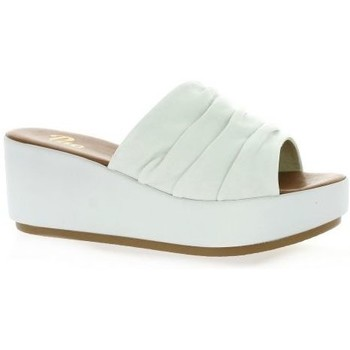Chaussures Femme Mules Pao Mules cuir Blanc