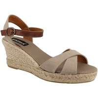 Chaussures Femme Espadrilles Emma 1974 Taupe