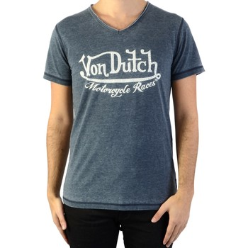 Vêtements Homme T-shirts & Polos Von Dutch Tee-Shirt Gris