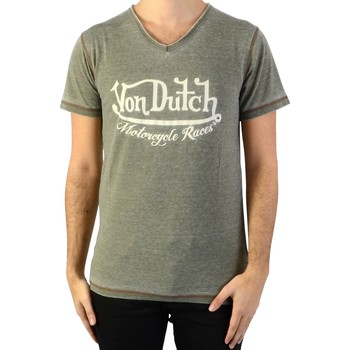 Vêtements Homme T-shirts & Polos Von Dutch Tee-Shirt Vert