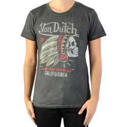 Vêtements Homme T-shirts & Polos Von Dutch Tee-Shirt  Camaro Gris