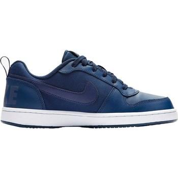 Chaussures Enfant Baskets basses Nike Court Borough Low SE GS Blanc, Bleu marine