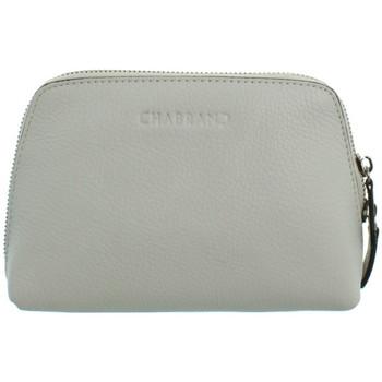 Sacs Vanity Chabrand Trousse  en cuir ref_cha43555 Blanc 19*14.5*7 Blanc