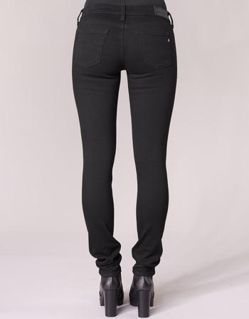 Replay Slim Jeans 098 Vêtements Luz Femme Noir hrQdts