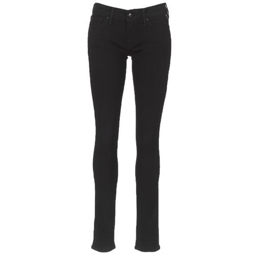 Vêtements Femme Jeans slim Replay LUZ Noir 098