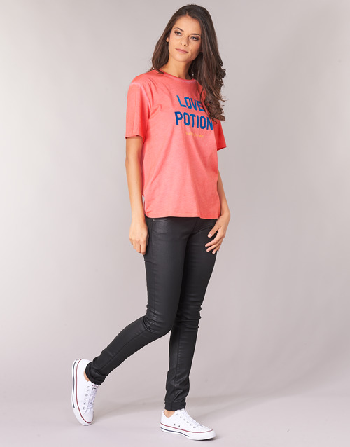 YAYOUTE  Replay  t-shirts manches courtes  femme  rouge