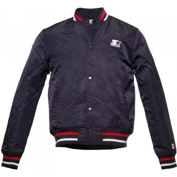 Vêtements Homme Blousons Starter Jacket Nylon  Navy / Red bleu