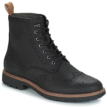 Chaussures Homme Boots Clarks BATCOMBE Noir