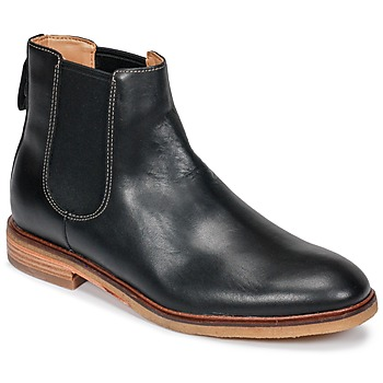 Chaussures Homme Boots Clarks CLARKDALE Black Leather