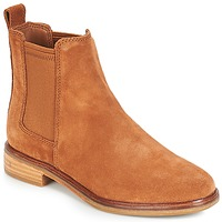 Chaussures Femme Boots Clarks CLARKDALE Camel