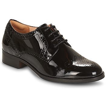 Chaussures Femme Derbies Clarks NETLEY Black Pat