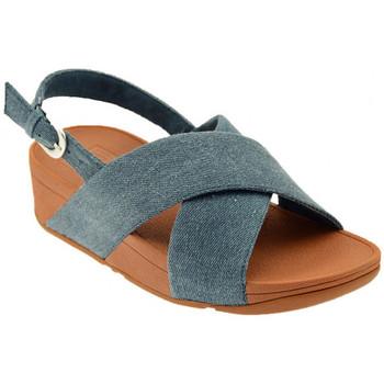 Chaussures Femme Conditions des offres en cours FitFlop Lulù CROSS BACK STRAP SANDALS Sandales