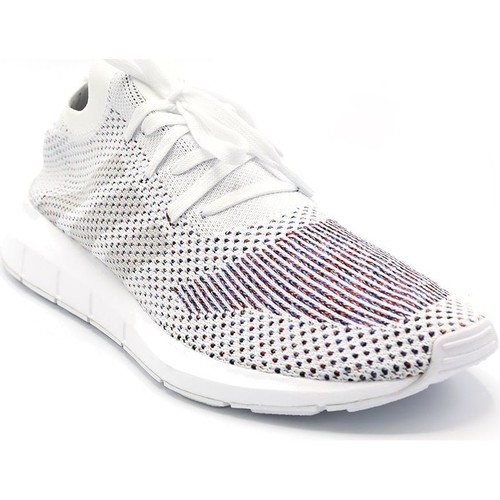 adidas Originals BASKET SWIFT RUN PK BLANC/MULTICOLOR - Chaussures Baskets basses Homme
