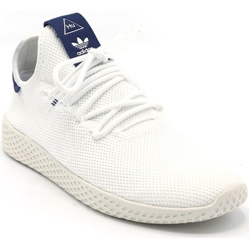 Chaussures Femme Baskets basses adidas Originals BASKET PW TENNIS HU W BLANC