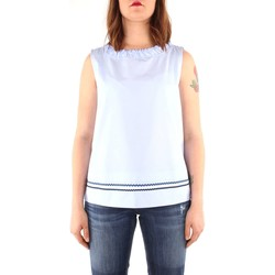 Vêtements Femme Tops / Blouses Marella Sport ALDA T-shirt Femme light blue light blue