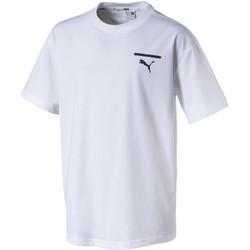 Vêtements Enfant T-shirts manches courtes Puma T-shirt  Evo Graphic Blanc K blanc