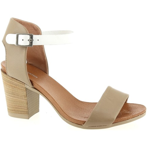 Toledano 7525 Taupe - Chaussures Sandale Femme