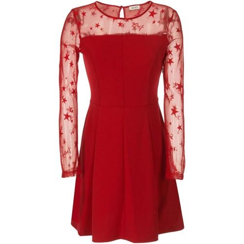 Vêtements Femme Robes courtes Liu Jo W67186 Rouge