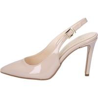 Chaussures Femme Sandales et Nu-pieds Olga Rubini sandales beige cuir verni BY286 beige