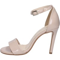 Chaussures Femme Sandales et Nu-pieds Olga Rubini chaussures femme  sandales beige cuir verni BY289 beige