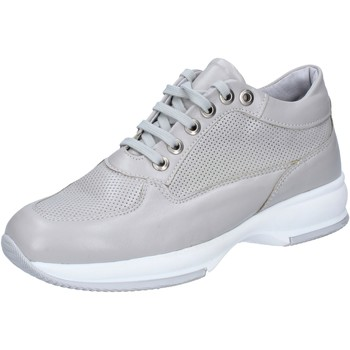 Chaussures Femme Baskets basses Paprika chaussures femme OLGA RUBINI sneakers gris cuir BY379 gris