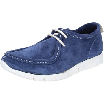 Chaussures Femme Baskets basses Kep's By Coraf KEP'S sneakers bleu daim BY463 bleu