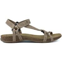 Chaussures Femme Sandales et Nu-pieds Interbios SANDALES INTERMÉDIAIRES TRIBERMUT 5412 BEIGE