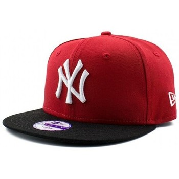 Accessoires textile Enfant Casquettes New Era CASQUETTE JUNIOR  MLB COTTON BLOCK NEW YORK YANKEES / ROUGE Rouge