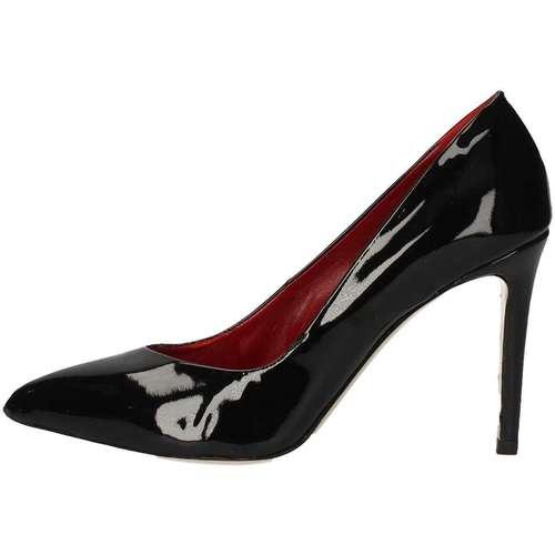 Mariano Ventre KATE90 Chaussures à Talon Femme Noir Noir - Chaussures Escarpins Femme