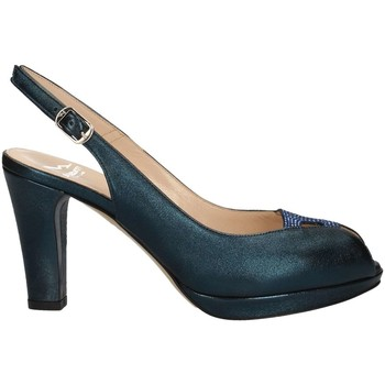 Chaussures Femme Sandales et Nu-pieds Musella 018300 Sandales Femme Bleu Bleu