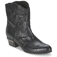 Chaussures Femme Bottines Vic GINCO Noir
