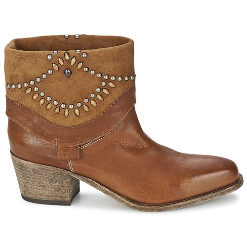 Bottines Marron Agave Vic Femme Agave N0wOnyv8Pm