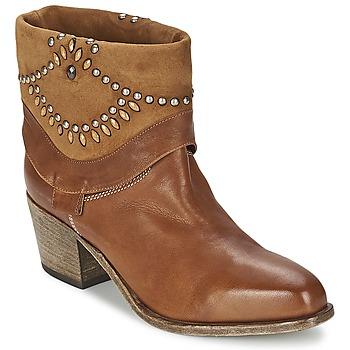 Bottines / Boots Vic AGAVE Marron 350x350